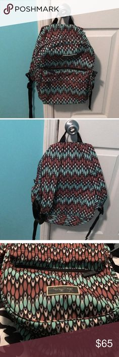 Sierra streams vera Bradley backpack No trades what so ever please do not ask. Open to reasonable offers. Will sell on merc and vint cheaper. Vera Bradley Bags Backpacks