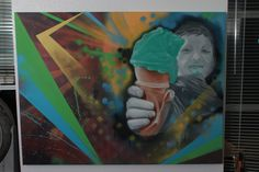"""my hope"" Graffiti Murals, Painting, Art, Art Background, Painting Art, Kunst, Paintings, Performing Arts, Painted Canvas"