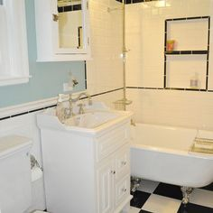 1000 images about the bathroom on pinterest 1940s tile for Bathroom ideas 1940