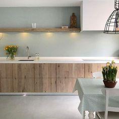 Een prachtig keukenproject opgeleverd in Utrecht! #kitchen #kitchendesign #modern #eiken #himacs #cooking #siemens #quooker #puur #handgemaakt #design #sijmeninterieur