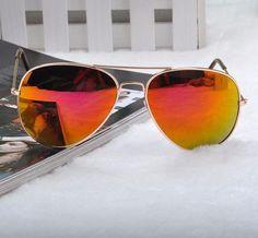 Anti-Reflective Pilot Sunglasses