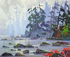 Artist Bi Yuan Cheng - Oceanside Art Gallery - Qualicum Beach Art Galleries