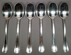 "Christofle Marly Silverplate 7-3//8/"" Oval Soup Dessert Spoon No Monogram"