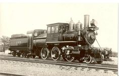 #177 2-6-0 Not sure if this is actually a Delaware & Hudson locomotive, but there is something that looks like D&H lettering on the tender