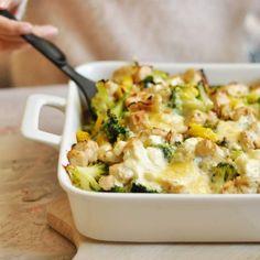 Feta, Cooking Recipes, Healthy Recipes, Healthy Food, Potato Salad, Mashed Potatoes, Macaroni And Cheese, Food Porn, Good Food