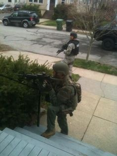 @stephen_meuse: SWAT on our front steps