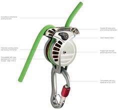 """Wild Country Revo - climbing mag """"Editor's Choice"""" - release pending - """"Safest Belay Device on the Market"""""""