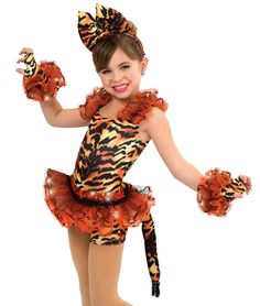 343c2f292b097 Tiger Tales - Character Themed - Dance Costume : A Wish Come True -  American Made - Performance Costume
