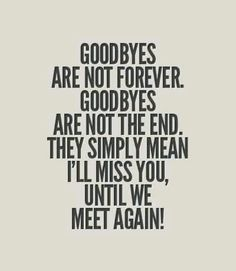 Goodbyes...it's just a goodbye, but i like to see you again soon...! Please tell me if you....x