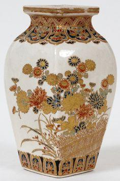 JAPANESE SATSUMA IMPERIAL VASE, MEIJI PERIODJapanese AntiquesMore Pins Like This At FOSTERGINGER @ Pinterest