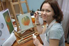 Olga, not fast but very precise works!