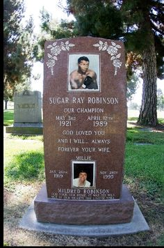 #BestEverPoundForPound Fighter: Sugar Ray's record was 128-1-2 with 84 knockouts at the pinnacle of his career. Amazingly, in over 200 fights, Sugar Ray was never physically knocked out (though he did receive one technical KO).