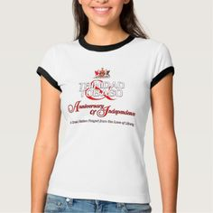 Happy Anniversary of Independence T&T T-Shirt - anniversary gifts ideas diy celebration cyo unique