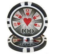Lot of 25 $100 Hi Roller 14 Gram #Poker Chips Low / Free Shipping Options