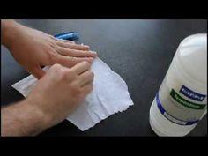 Inktvlekken verwijderen uit kleding