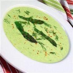 Cream of Fresh Asparagus Soup I Recipe