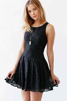 Ladakh Camilla Lace Dress - Urban Outfitters