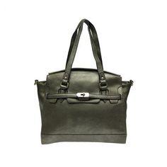 Charmante Handtasche mit goldfarbener Schnalle (in 4 anziehenden Farben) #grey #handbag # fashion #jepo