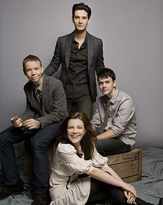Will Poulter, Ben Barnes, Georgie Henley & Skandar Keynes - Cast of The Chronicles of Narnia: The Voyage of the Dawn Treader (2010)