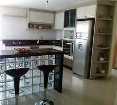 Kitchen Sets, Kitchen Pantry, Kitchen Decor, Kitchen Bar Design, Interior Design Living Room, Small Apartment Kitchen, Kitchen Remodel, Home Furniture, Sweet Home