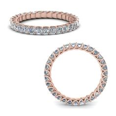 asscher diamond trellis eternity ring in rose gold at Fascinating Diamonds. This Wedding Ring is simply designed to suit your persona. Eternity Ring Diamond, Diamond Bracelets, Sterling Silver Bracelets, Diamond Jewelry, Gold Jewelry, Bangle Bracelets, Silver Bangles, Ladies Bracelet, Silver Necklaces
