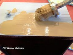 TLC Vintage Collection: Chalk Paint® Wash Tutorial
