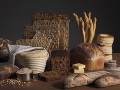 Bring on the bread--carbs be damned! Happy holidays  electrolux-grand-cuisine: Swedish photographer Gustav Almestal-05