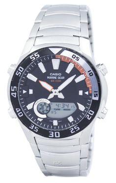 f5230e4e9b8 Casio Analog Digital Marine Gear AMW-710D-1AVDF AMW-710D-1AV Mens Watch