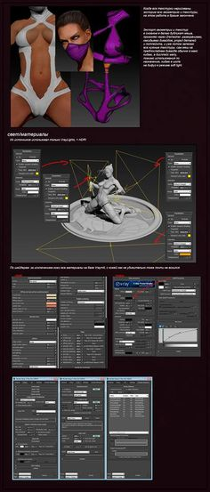 Denis Ulianov: Making Of Milenna from Mortal Kombat