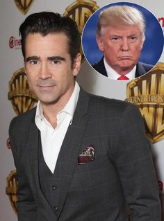 Colin Farrell's 7-Year-Old Son Dislikes Donald Trump Because 'He Keeps Grabbing Those Kittens'
