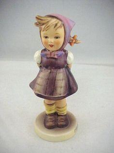 "Vtg 1970s ""Which Hand "" Goebel Hummel Figurine TMK 5 258 1963 30 5 1 8"" Tall | eBay"