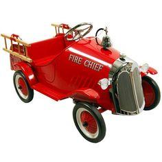 Trapauto Brandweer