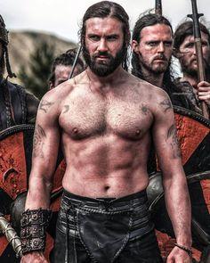 Rollo from Vikings Tribal Warrior, Viking Warrior, Lagertha, Fantasy Male, Fantasy Warrior, Viking Shirt, Vikings Tv Show, Watch Vikings, Attitude