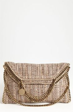 Stella McCartney 'Falabella - Bouclé Small' Fold Over Tote available at Nordstrom