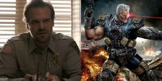 David Harbour de 'Stranger Things' pode viver Cable em Deadpool 2