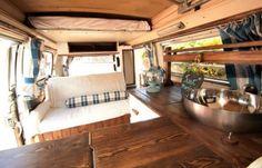 Awesome Interior Design Campervan Living (35)