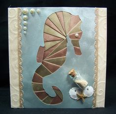iris folding - seahorse from Paper Transformer
