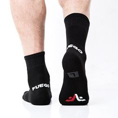 Athletic Black Socks by Fuego Review + Giveaway #AthleticBlackSocks #Giveaway #Review | The Wanderer Soul