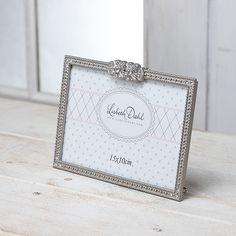 【北欧直輸入】リスベスダール フォトフレーム フラワークリスタル (Lisbeth Dahl Frame silver flower crystals ) [FR430] #manonstore #LisbethDahl