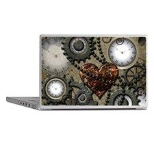 Steampunk Laptop Skins for