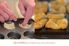Pepperidge Farm® Puff Pastry - Recipe Detail - Puff Pastry Meatball Marinara Tartlets