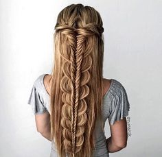 #hair #braids Obsessed with this hairstyle