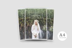 WANDERERS Photography Brochure - Brochures #psd #indesign #presentation #portfolio #template