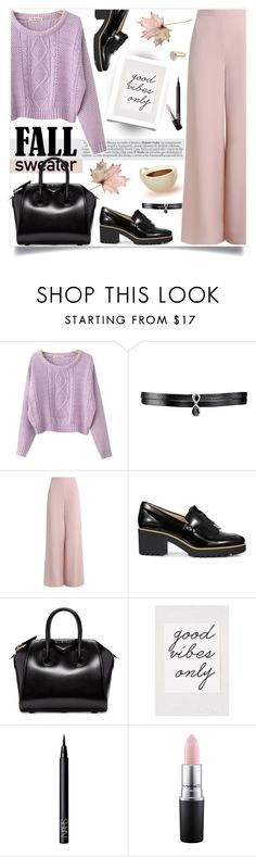 """Cozy Fall Sweaters 3"" by tamara-p ❤ liked on Polyvore featuring Chicnova Fashion, Fallon, Zimmermann, Hogan, Givenchy, Urban Outfitters, NARS Cosmetics, MAC Cosmetics, Bohemia and fallsweaters"