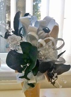 Liverpool flowers prom corsage Prom Corsage, Corsages, Burlap Wreath, Hanukkah, Liverpool, Wreaths, Floral, Flowers, Design
