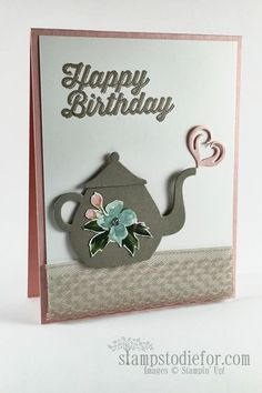 I'm a Little TeapotStampin' Up! Cups and Kettles Framelits Dies | Patstamps | Bloglovin'