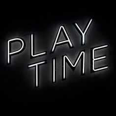 .....#starts #now #play #time #friday #tgif #yes #weekend #fun #party #summer #blackandwhite #black #art #neon #typography