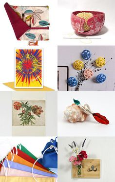 Colours of Summer by Dawn Whitehand on Etsy--Pinned with TreasuryPin.com