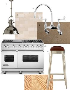 Regina's Rustic-with-Bling Kitchen Dream Kitchen Inspiration