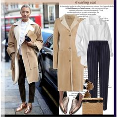 How To Wear Sweet Shearling Coats... Outfit Idea 2017 - Fashion Trends Ready To Wear For Plus Size, Curvy Women Over 20, 30, 40, 50